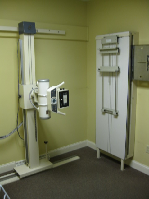 On-site X-ray unit